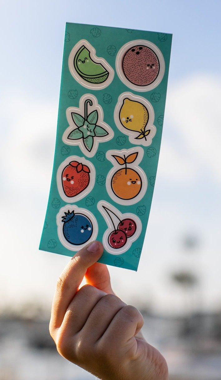 Dabble & Dollop Characters Sticker Sheet