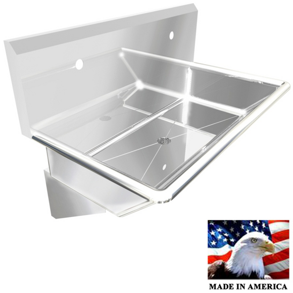 Stainless Steel Wash up Sink | Two Station |  36