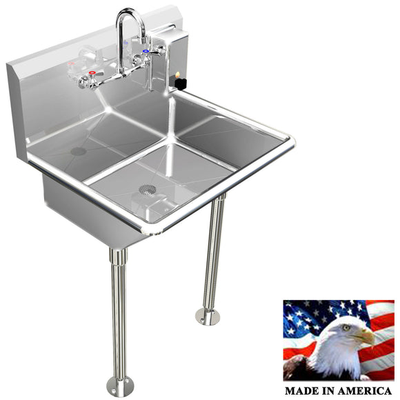 HAND SINK MANUAL FAUCET 24