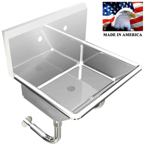 INDUSTRIAL SINGLE HAND SINK 24