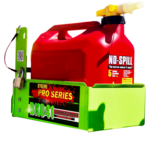 BK041-5 GALLON GAS CAN RACK FOR NO SPILL / SCEPTER BRAND GAS CANS - FREE SHIPPING