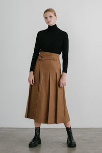 Liv Pleats Skirt