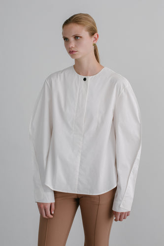 Joni cotton shirt in white