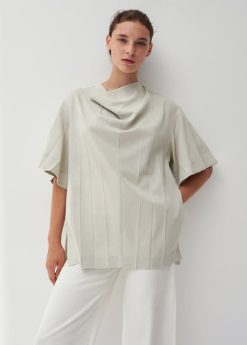 Ida pleated top