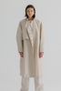 Jasper Trench Coat in Oatmeal