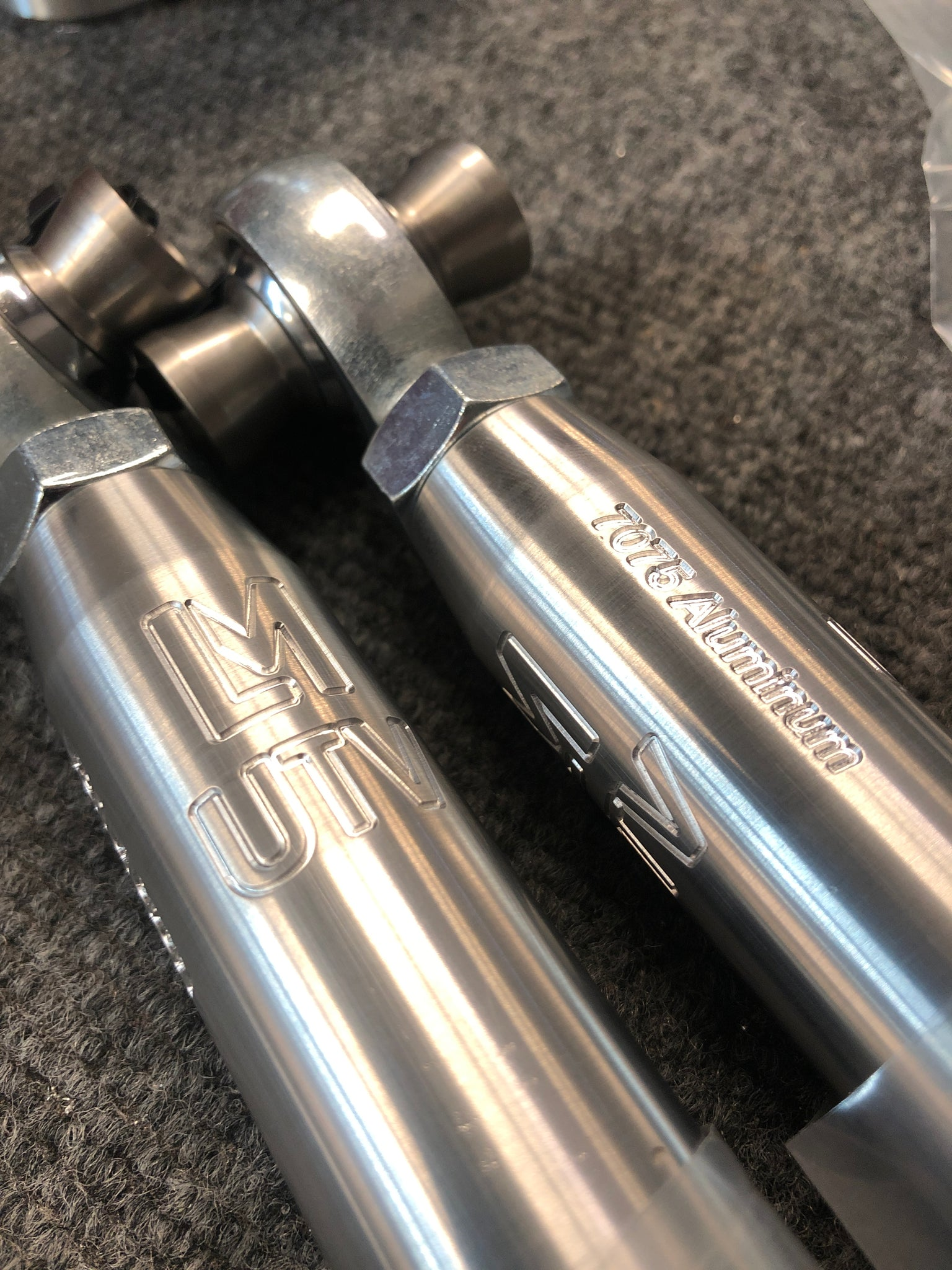 CAN-AM | MAVERICK X3 | 2017+ RS (72in) Steering Tie Rods (Heim Style)