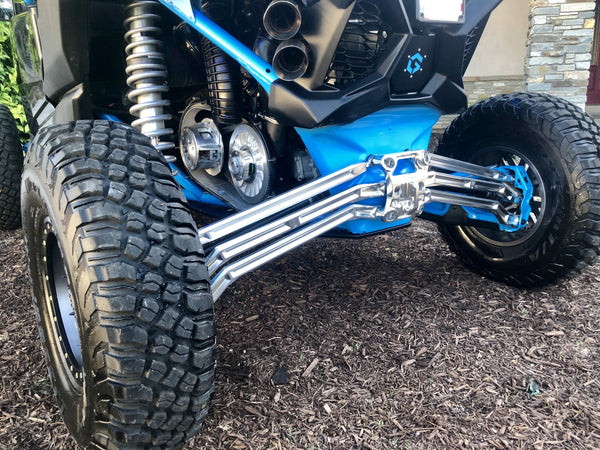 LM UTV Canam X3 High Clearance Radius Rods