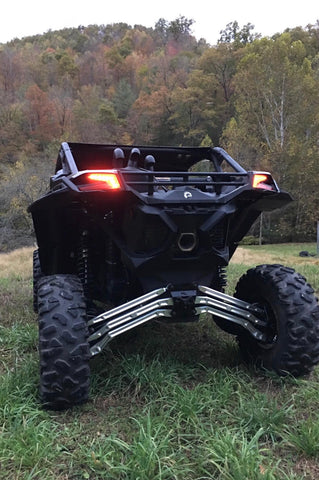 LM UTV Canam Maverick X3 DS 64in High Clearance Radius Rods