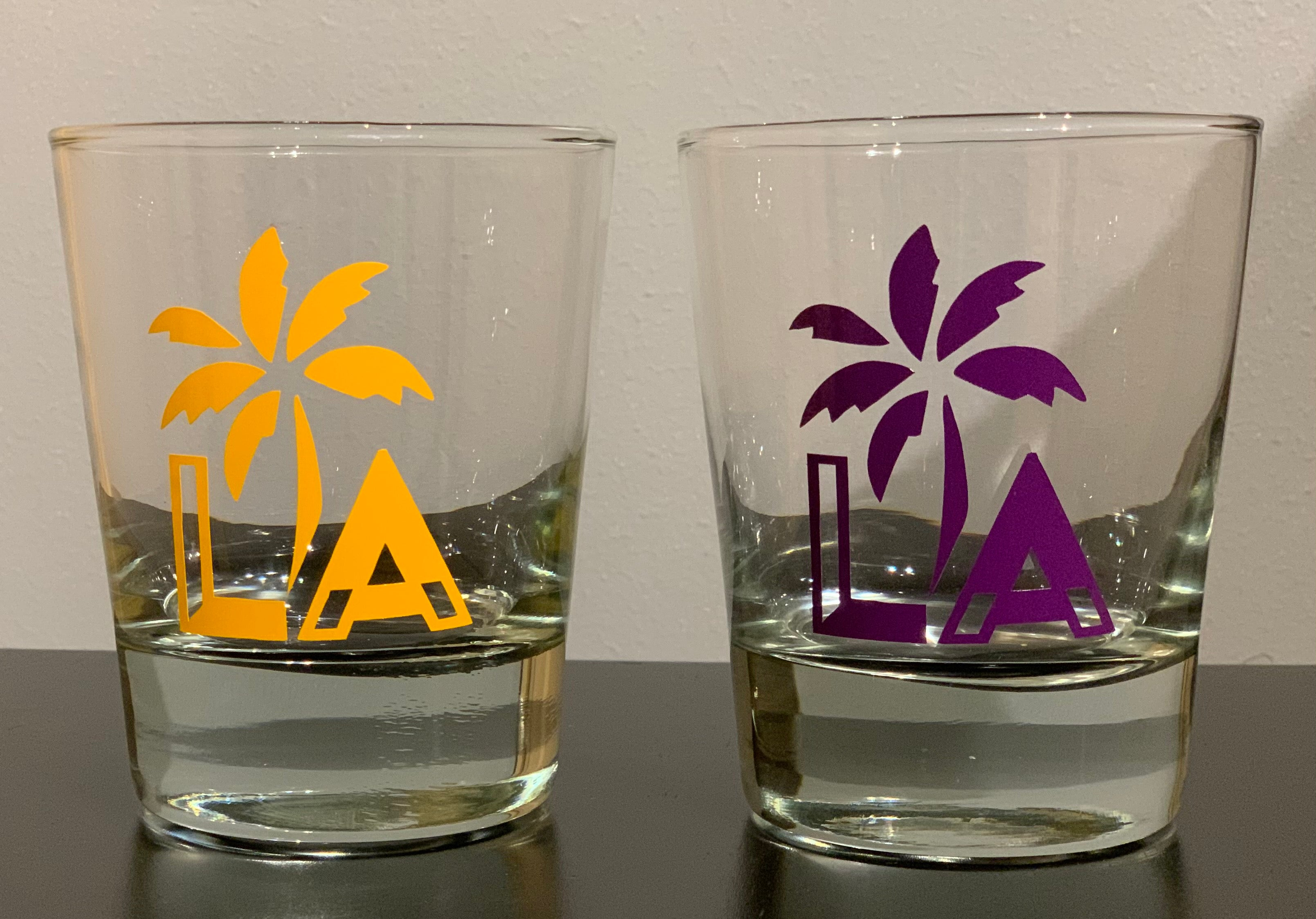 "Lakers LA ""Short"" Glasses Set"