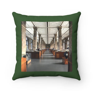 NATURAL HISTORY || Original Photography || Square Pillow Case || Throw Pillow Cover || Natural History Museum in London, England
