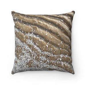 SAND RIPPLES || Original Photography || Square Pillow Case || Beach Photo Throw Pillow Cover