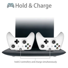 Load image into Gallery viewer, 4 in 1 Vertical Stand for Xbox One X