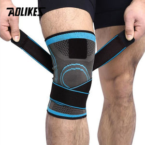 Knee Brace  Support Professional Protective Sports Knee Pad Breathable Bandage Knee Brace Basketball Tennis Cycling