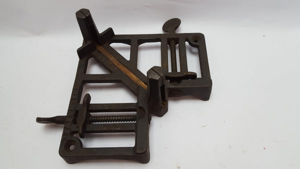 The Marvel Cast Iron Mitre Cutting Jig 8623-The Vintage Tool Shop