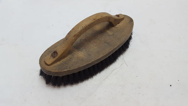 Curved Vintage Brush Missing some Bristles 12032-The Vintage Tool Shop