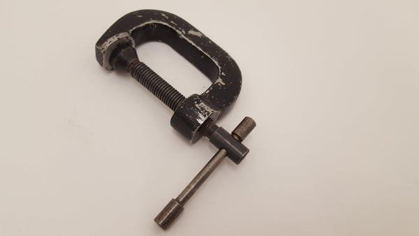"2 1/2"" G Clamp Unnamed GWO 13701-The Vintage Tool Shop"