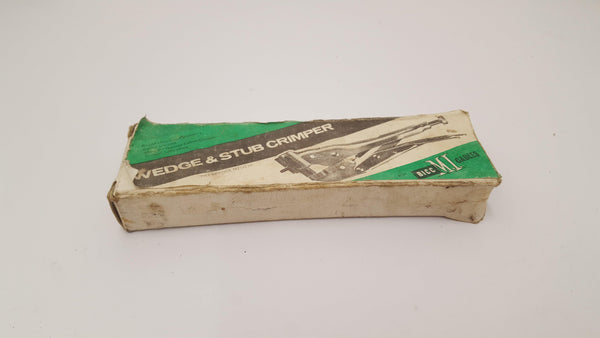 BICC Ltd Boxed Wedge & Stubb Crimper VGC 14310-The Vintage Tool Shop