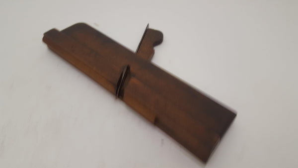 "Unusual 10"" Moulding Plane (Name Obscured) 14511-The Vintage Tool Shop"