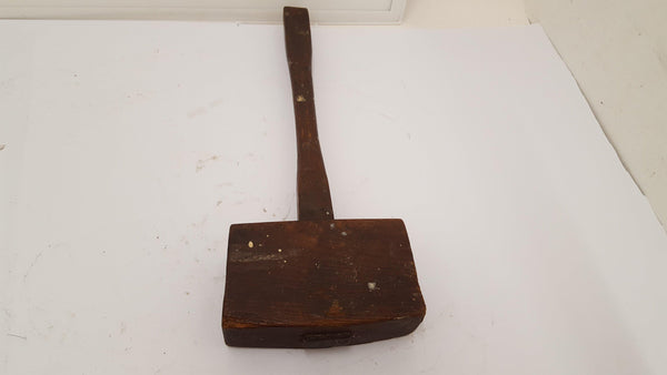 Rather Fine 1lb 8oz Carpenters Mallet Excellent Restored Condition 14919-The Vintage Tool Shop