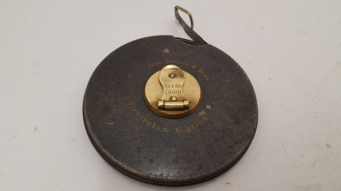 Metal Rabone Tape Measure 15063-The Vintage Tool Shop