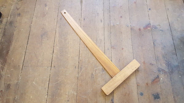 "Wooden Emir T Square 26 1/2"" x 12"" 15334-The Vintage Tool Shop"
