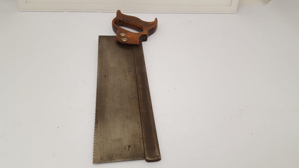 "12"" 12 TPI Steel Backed Saw Good Condition 15395-The Vintage Tool Shop"