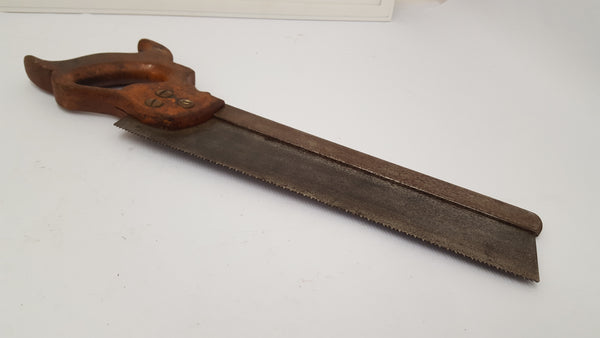 "12"" 10 TPI Steel Backed Saw Good Condition 15394-The Vintage Tool Shop"