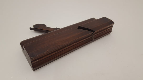 Complex Vintage Moulding Plane by S King Hull Minor Old Worm 15574-The Vintage Tool Shop