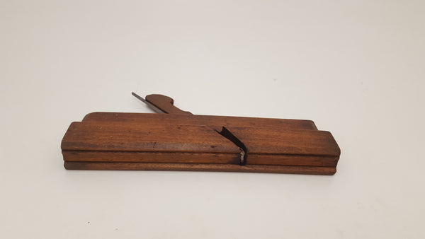 "G Brown 9 3/4"" Early Moulding Plane Tool 15707-The Vintage Tool Shop"
