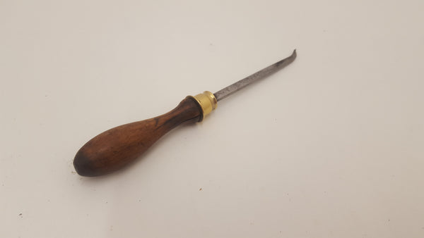 Ornate Small Ornamental Wood Turning Chisel with Cracked Handle 15786-The Vintage Tool Shop