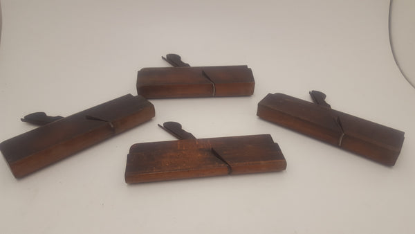Collection of 4 Matched Buck Tot. Court Rd Hollow & Rounds w/ 1 Pair 15658-The Vintage Tool Shop