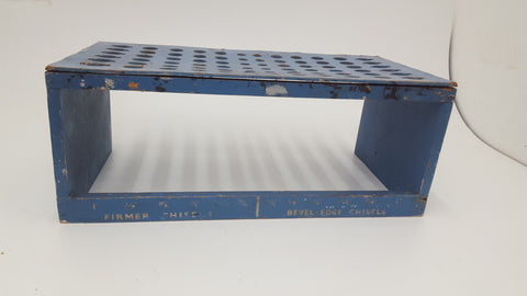 Antique Firmer & Bevel Chisel Shop Display Stand Holds 72 Chisels 17676-The Vintage Tool Shop