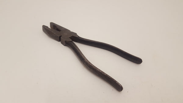 "Vintage 8"" Engineers Pliers Good Condition 17779-The Vintage Tool Shop"