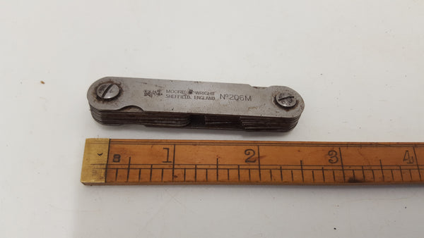 Moore & Wright No206M Feeler Gauges 18171-The Vintage Tool Shop