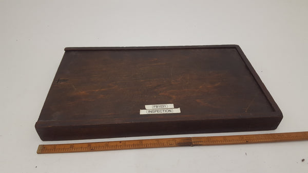 "Starret 5"" To 6"" Micrometer Wooden Box 18409-The Vintage Tool Shop"