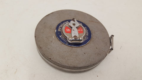 Rabone Chesterman 30m Tape Measure 18641-The Vintage Tool Shop