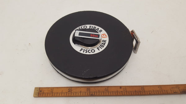 Fisco Fibar Measuring Tape 20m 18631-The Vintage Tool Shop