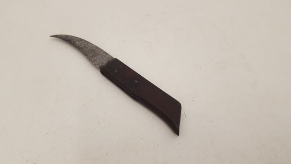 "Eseco Leatherworkers Trimming Tool 6 1/2"" 18862-The Vintage Tool Shop"