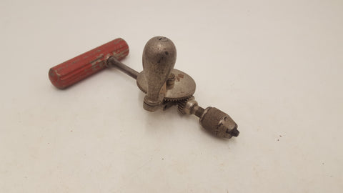Antique Surgeons Hand Drill w Dual Position Handle by Down Brothers London 19276-The Vintage Tool Shop