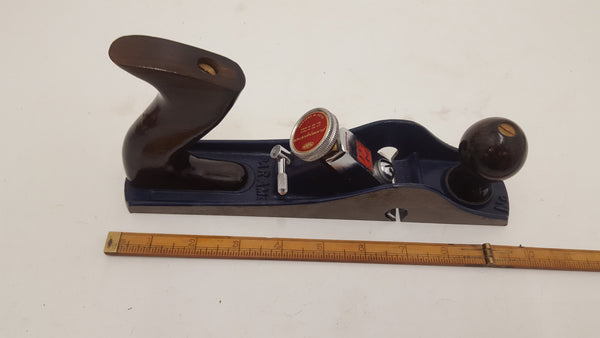 Vintage Paramo No 10 Woodworking Plane Master Open Mouth w Box 20318