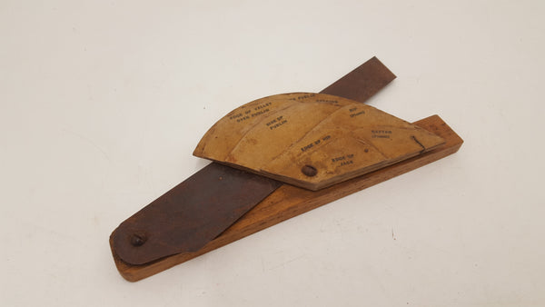 "Beautiful Antique Cardboard 1"" Roofit Bevel No 248125 w Box"