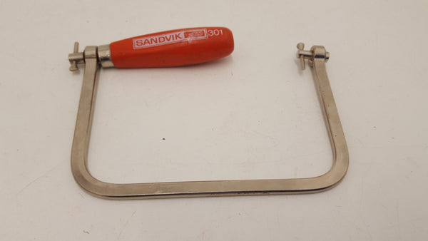 Nice Sandvik 301 Coping Saw Frame no blade 21082