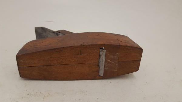 "7 1/2 x 2 1/2"" Vintage Unnamed Coffin Plane 21562"