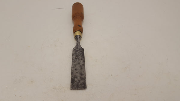 "Large 1 1/4"" Vintage Sorby Chisel w Traditional Round London Pattern 21576"