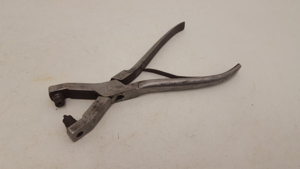 "Vintage Staynes 8 1/2"" Hole Punch Cobbler Pliers 21665"