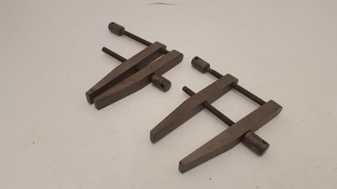 Pair of Small Vintage Metal Parallel Clamps 21512