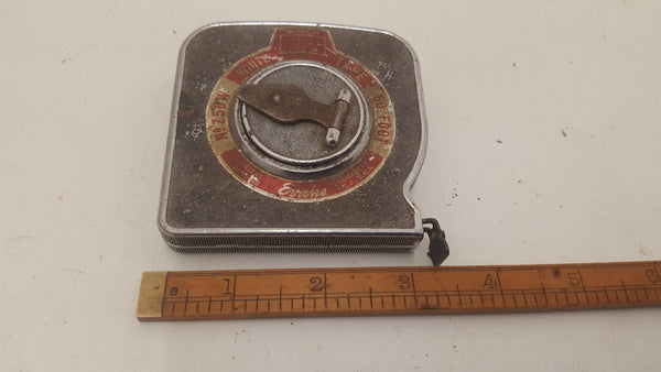 Vintage Evans White Tape Z50W Tape Measure 50ft 21702