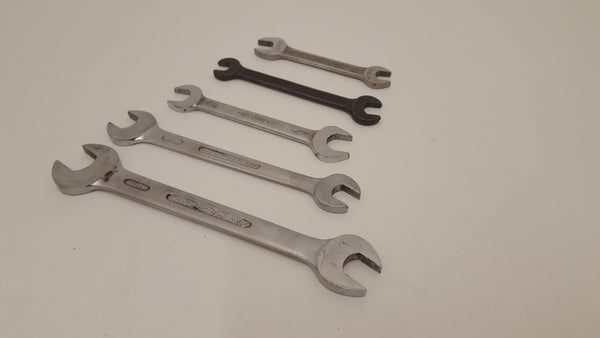 "Job lot of Quality Spanners 7/16 - 5/8"" 22039"