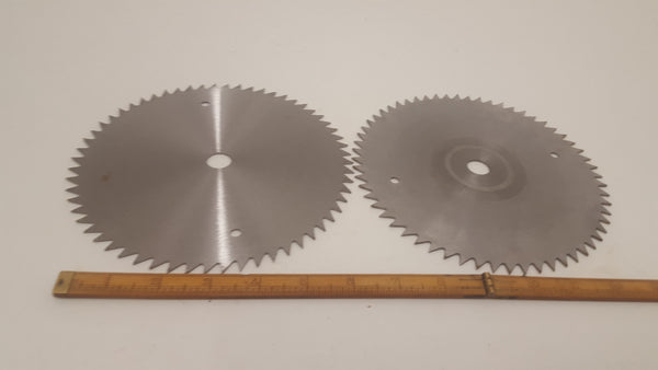"Pair of Quality 7 1/4"" Wolf Circular Saw Blades w 5/8"" Bore 22411"