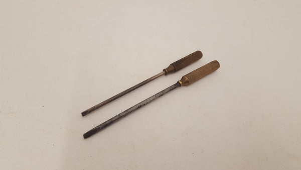 "Pair of Delicate Turnscrews 5 & 5 1/2"" 22279"